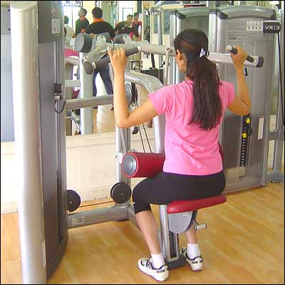 ladies gym hyderabad